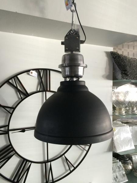clinton taklampe i antrasitt paradiset interi r. Black Bedroom Furniture Sets. Home Design Ideas
