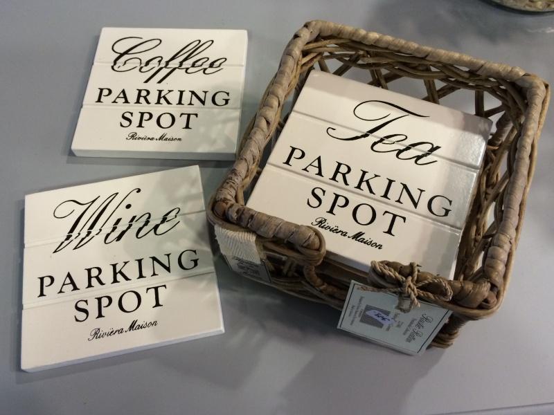 Svært Parking Spot Coasters Rustic Rattan - Paradiset Interiør ID-18